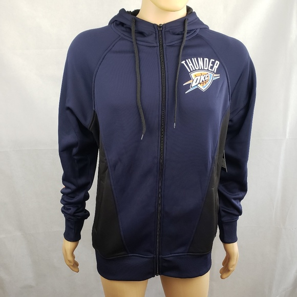 on sale d42f4 c6c1e NBA Oklahoma City OKC Thunder Hoodie Size M NWT